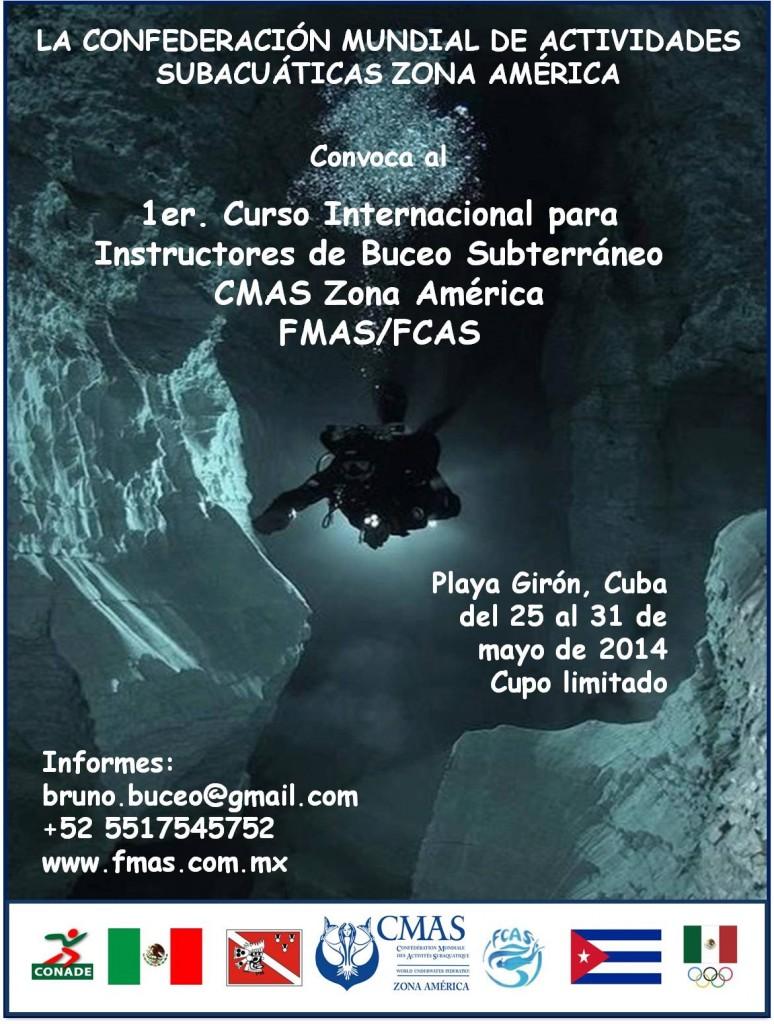 Poster Curso Cueva español