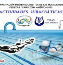 Certificación de Capacitación para Entrenadores de Actividades Subacuáticas FEDECAS / CMAS Zona América 2020