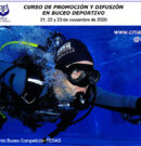 Curso de Promoción y Difusión en Buceo Deportivo de Competición CMAS Zona América