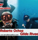 Entrevista a Gilda Rivadeneira y Roberto Ochoa de la Federación Ecuatoriana de Buceo y Actividades Subacuáticas