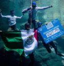 2 Nuevos Récords Panamericanos y Mundiales de Apnea CMAS en agua dulce para Alejandro Lemus de México